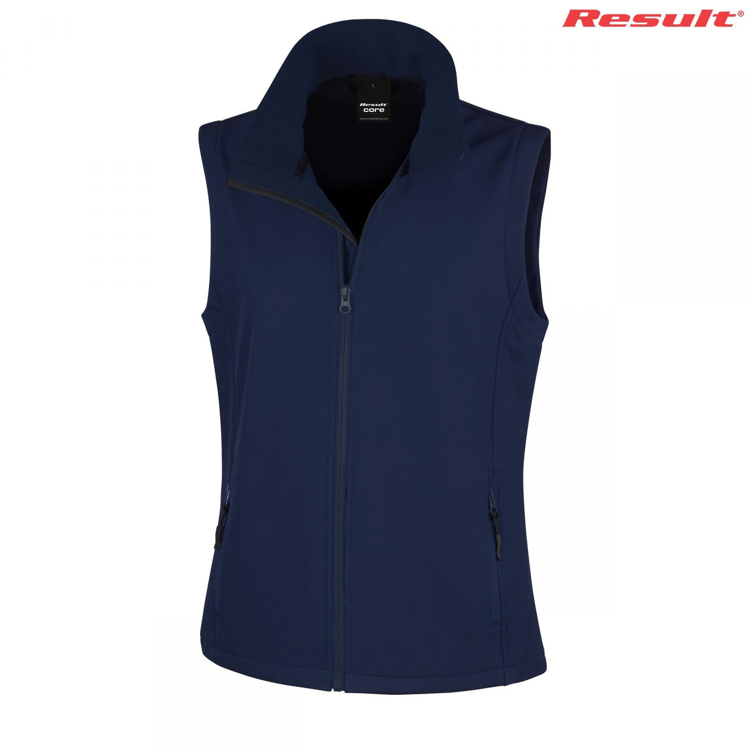Result Ladies Printable Softshell Vest