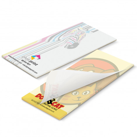 90mm x 160mm Note Pad - Full Colour