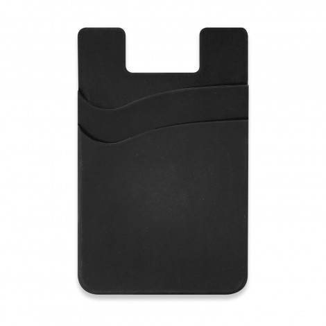Dual Silicone Phone Wallet - Full Colour