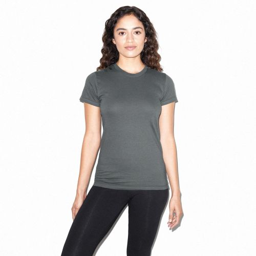 American Apparel Ladies Fine Jersey Short Sleeve T-Shirt