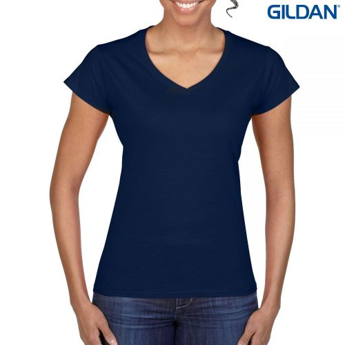 Gildan Softstyle Ladies V-Neck T-Shirt