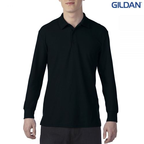 Gildan DryBlend Adult Double Pique Long Sleeve Sport Shirt