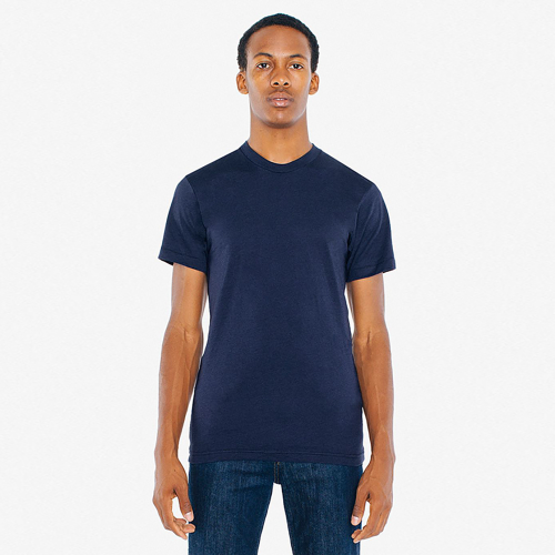 American Apparel Unisex Poly-Cotton Short Sleeve T-Shirt