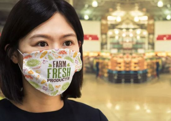 FOMO With Face Masks? Able Print & Promo Have LARGE Supplies That Are Ready To Brand With Bright Colours That Pop!