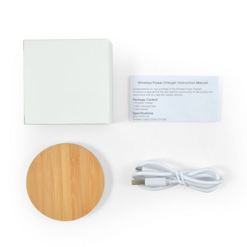 Arc Bamboo Wireless Charger