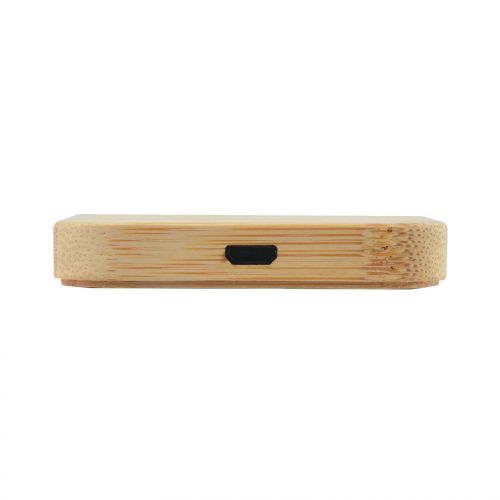 Arc Bamboo Square Wireless Charger
