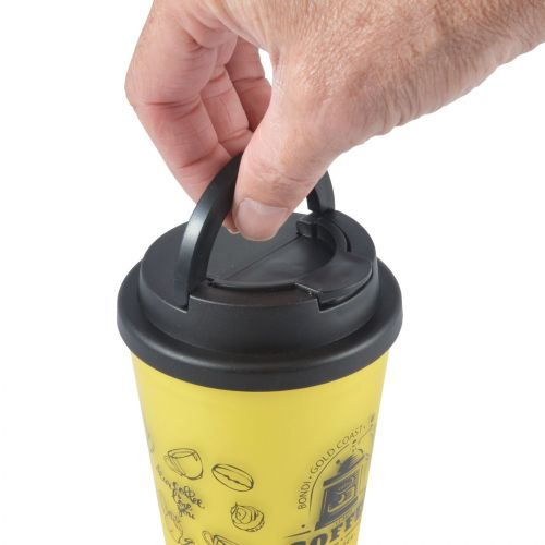 Aroma Coffee Cup / Handle Lid