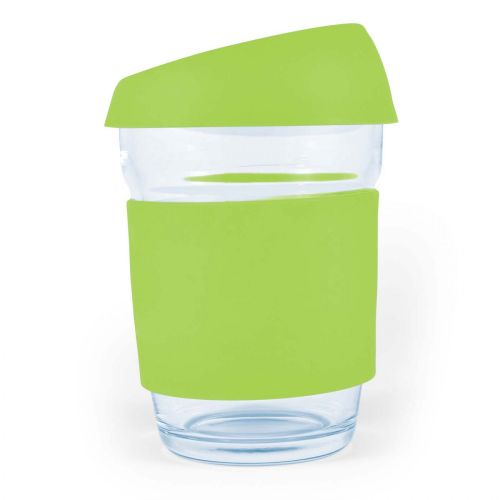 Vienna Glass Coffee Cup / Silicone Lid