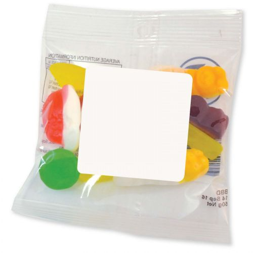 Assorted Jelly Party Mix in 50 Gram Cello Bag