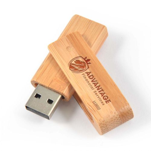 Bamboo USB Flash Drive