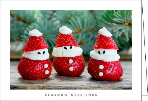NZ901 - Strawberry Santas