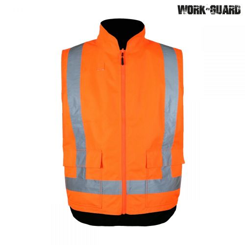 Work Guard Reversible Fleece Lined Safety Vest D/N TTMC-W