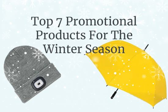 Winter? We're Ready! Able Print and Promos top 7 Promotional Products For The Winter Season